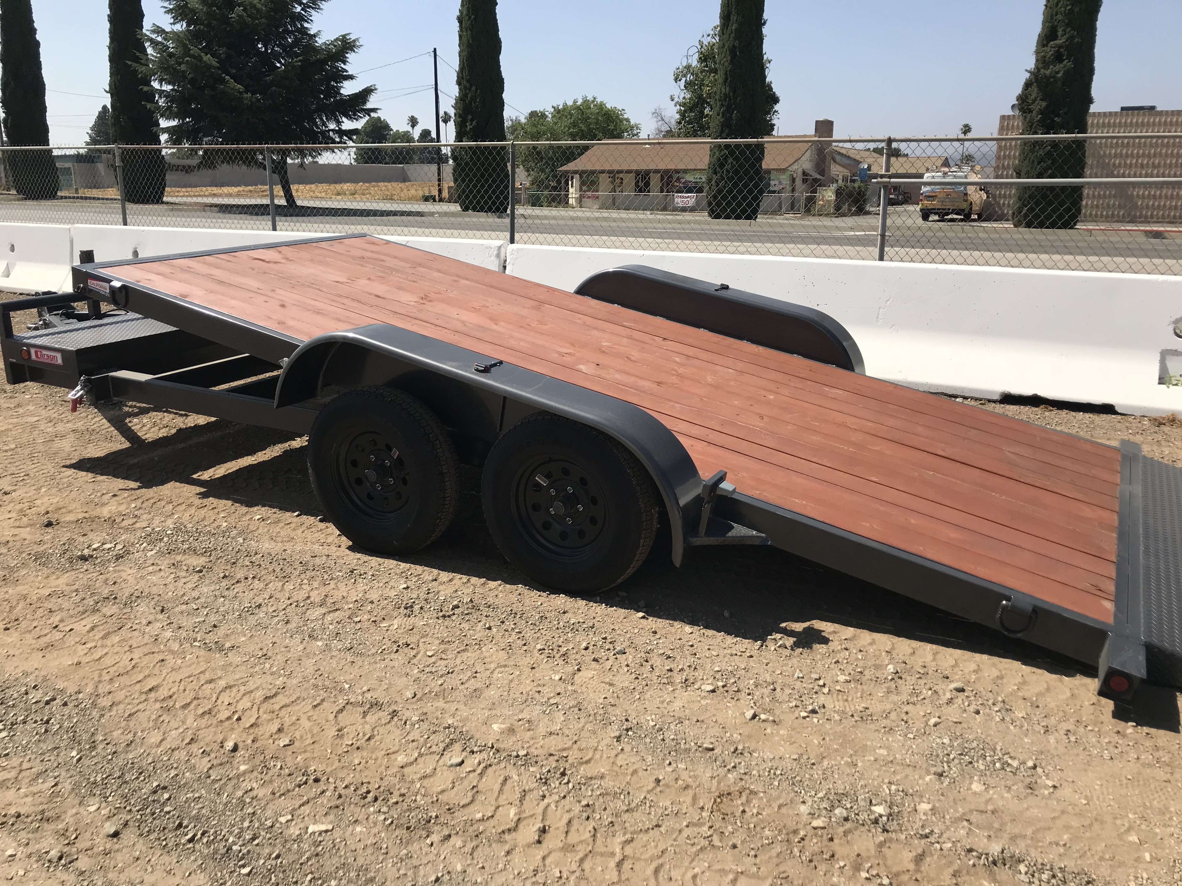 New, 2020, Carson Trailer, Gravity Tilt Deck 18' Utility Trailer with 2-3500lb Axles in Beaumont, CA, Utility Trailers