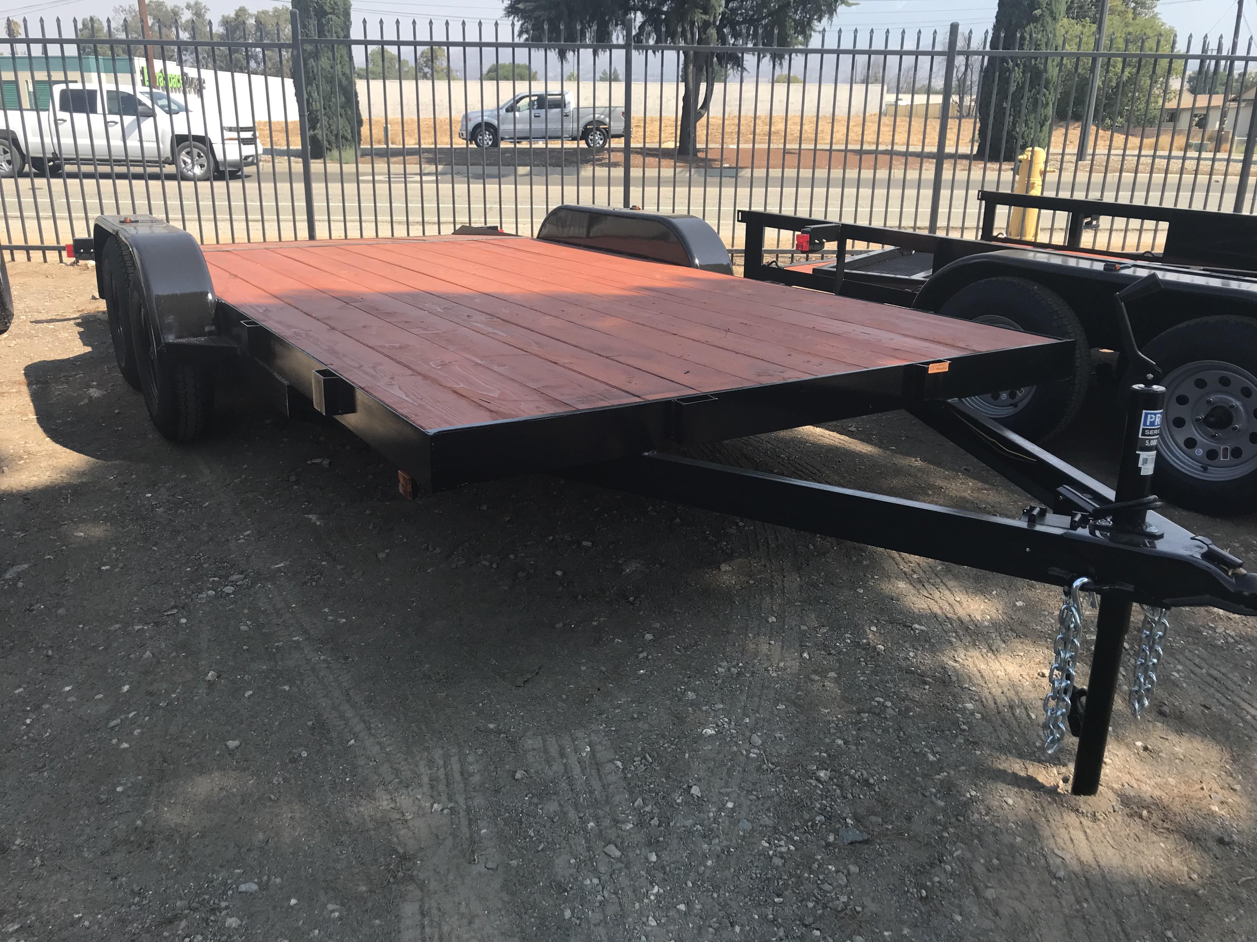 New, 2021, Carson Trailer, 7X16' Standard Car Hauler in Beaumont, CA, Car Haulers