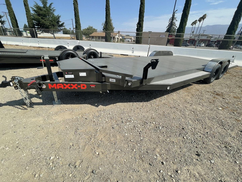 New, 2021, Maxxd Trailers, New Maxx-D Car Hauler 7x22' 7,000LB GVWR in Beaumont, CA, Car Carrier Trailers