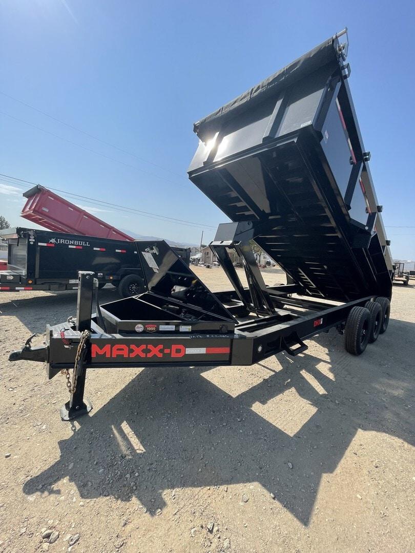 New, 2021, Maxxd Trailers, New Maxx-D Dump Trailer 7x18' 21,000LB GVWR in Beaumont, CA, Dump Trailers