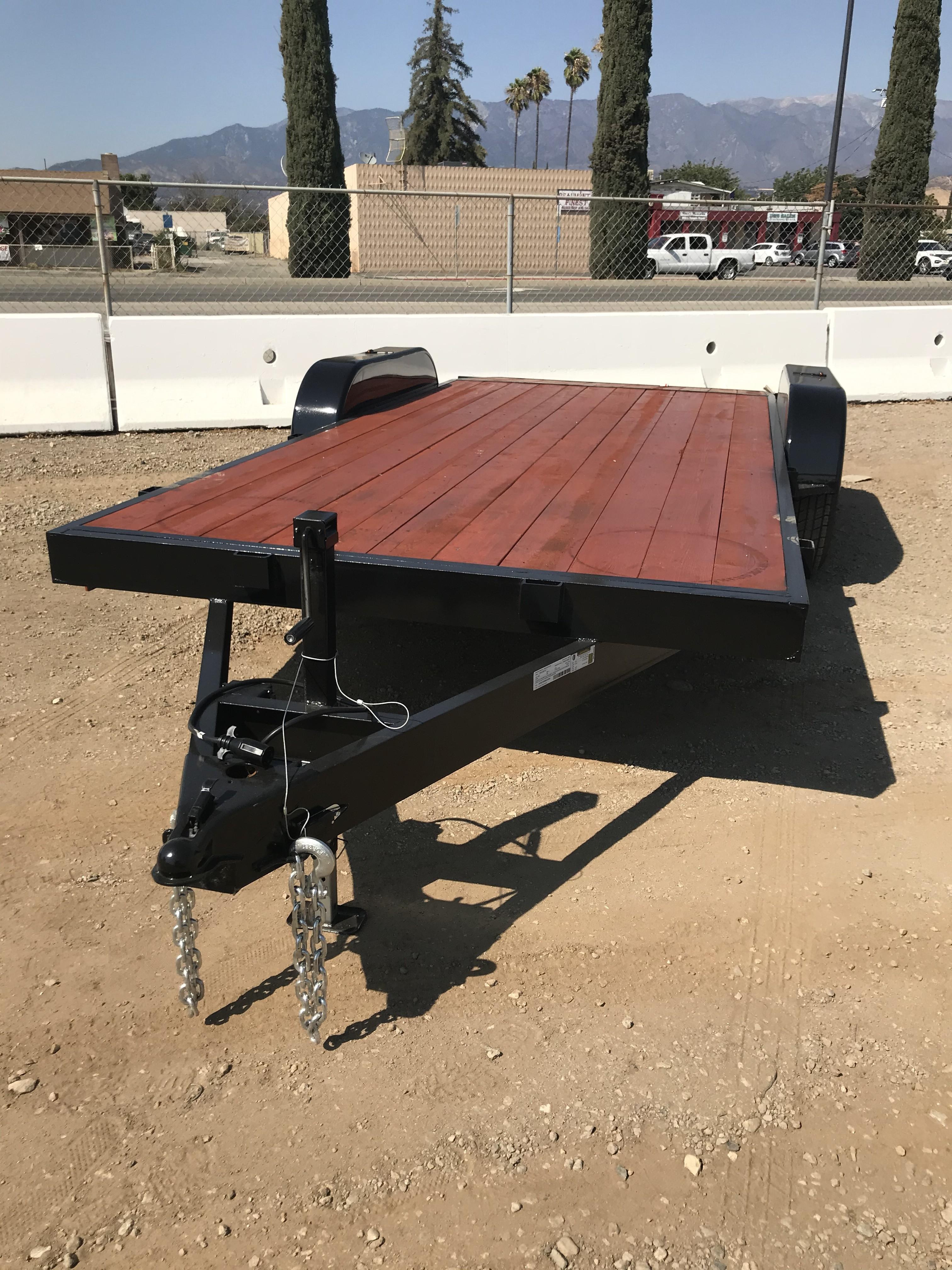 New, 2021, Carson Trailer, 18' Heavy Duty Black Car Hauler in Beaumont, CA, Car Carrier Trailers