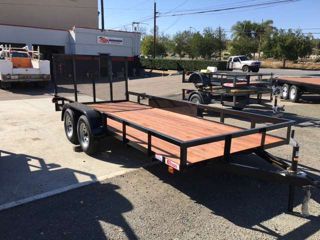 New, 2019, Carson, 16' UTILITY TRAILER, Toy Haulers