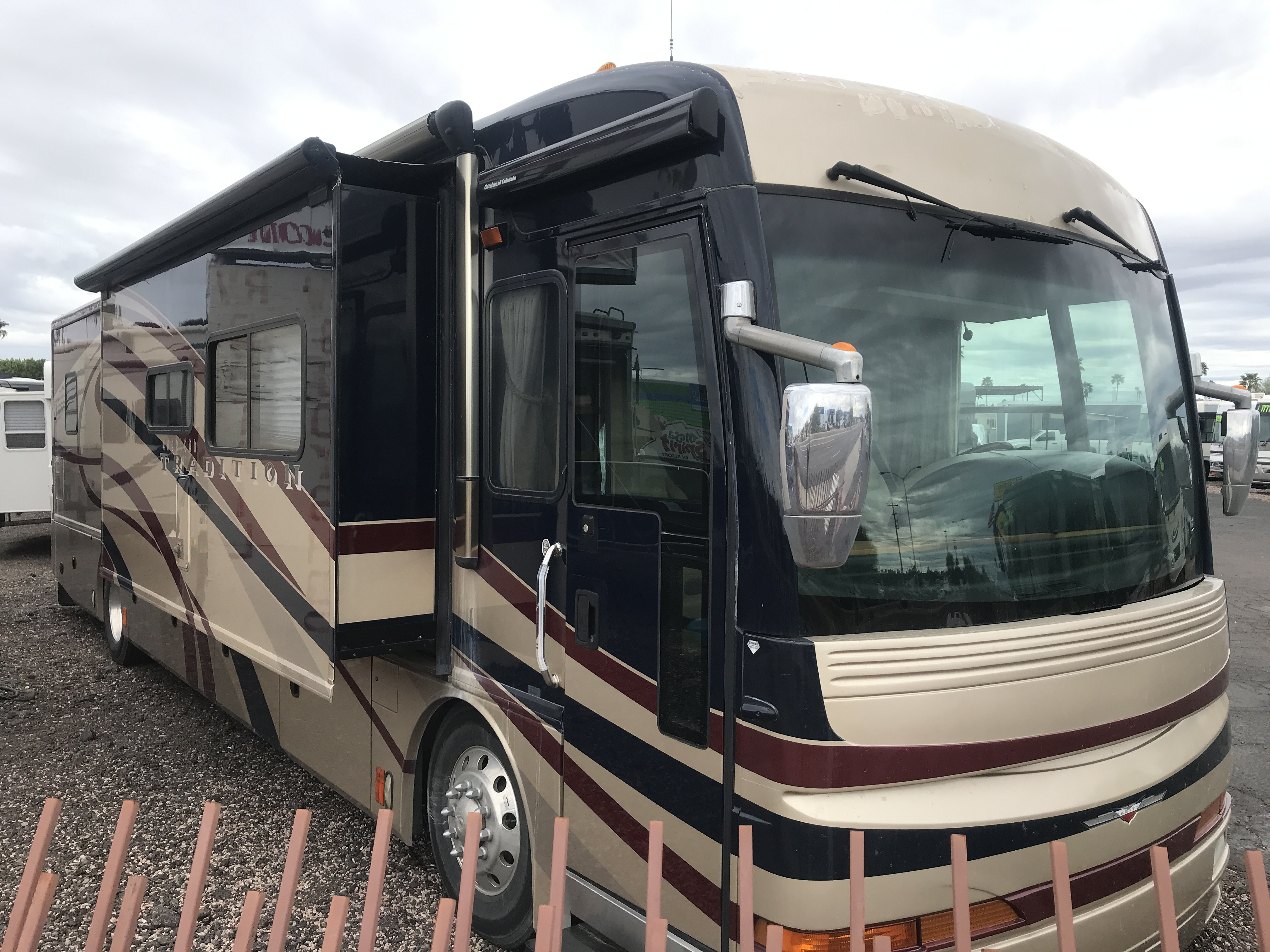 Used, 2007, American Coach, American Tradition 40J, RV - Class A