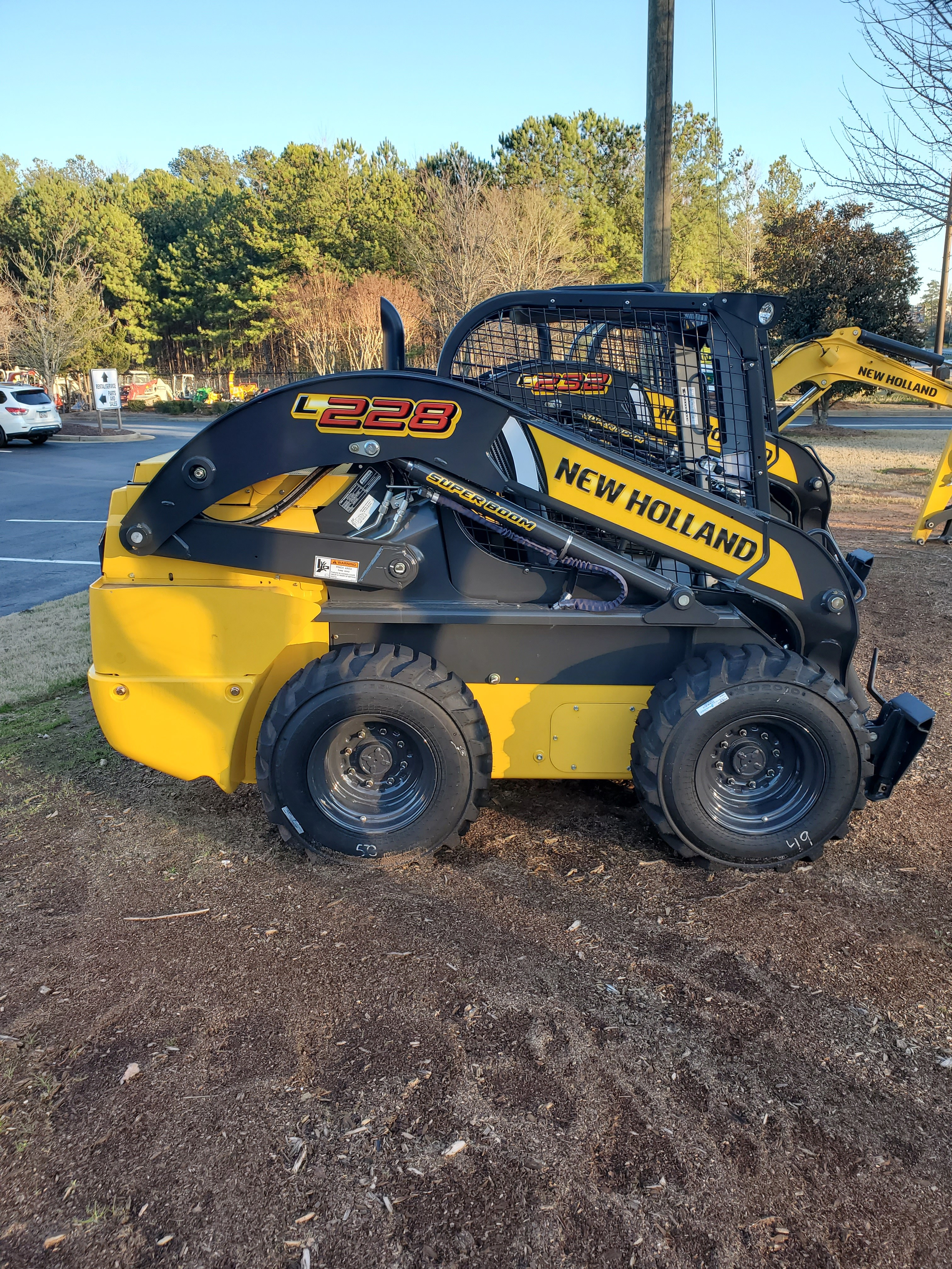 New, 2019, New Holland Construction, L228, Skid Steers