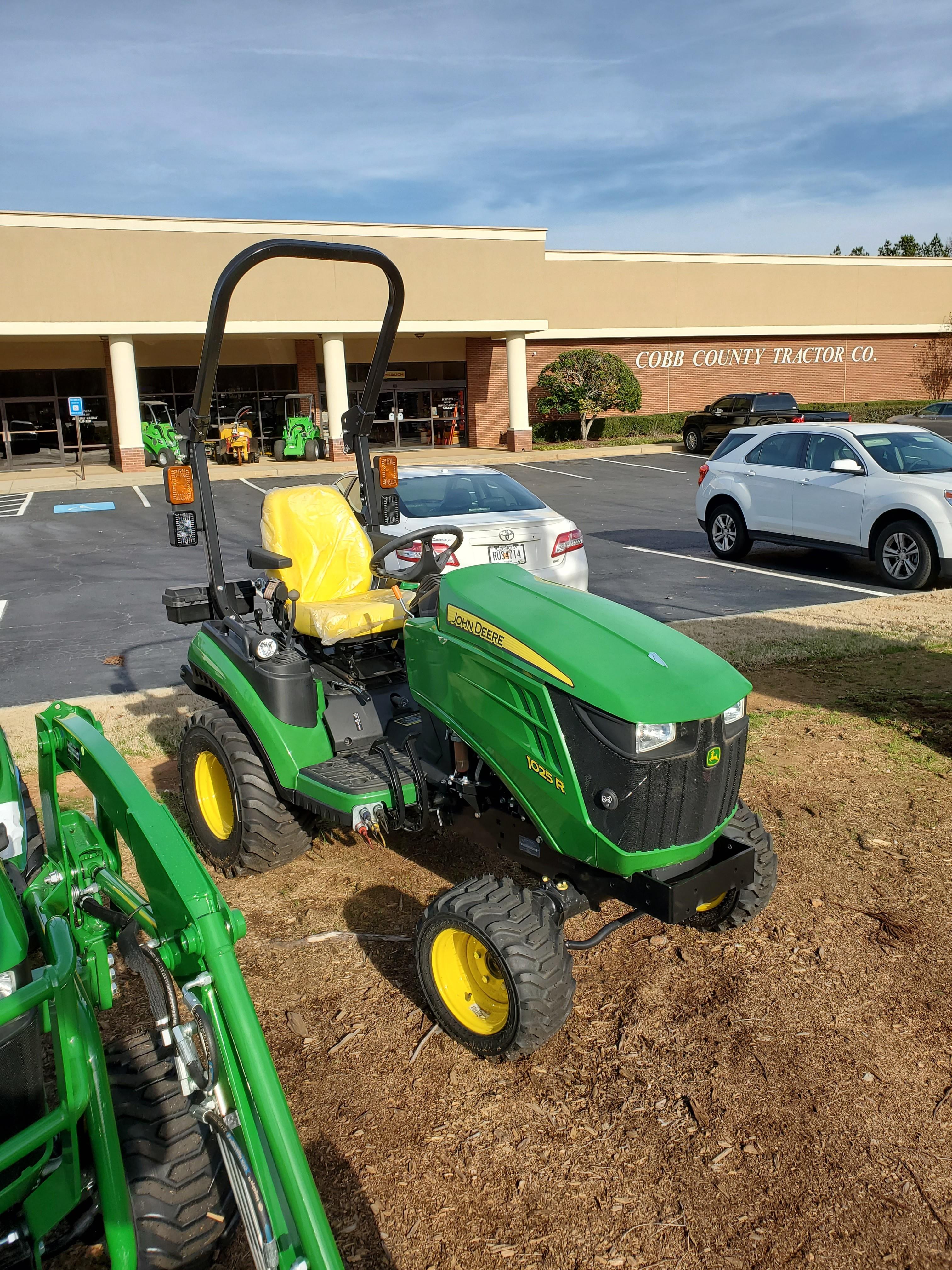 New, 2019, John Deere, 1 Family 1025R, Tractors