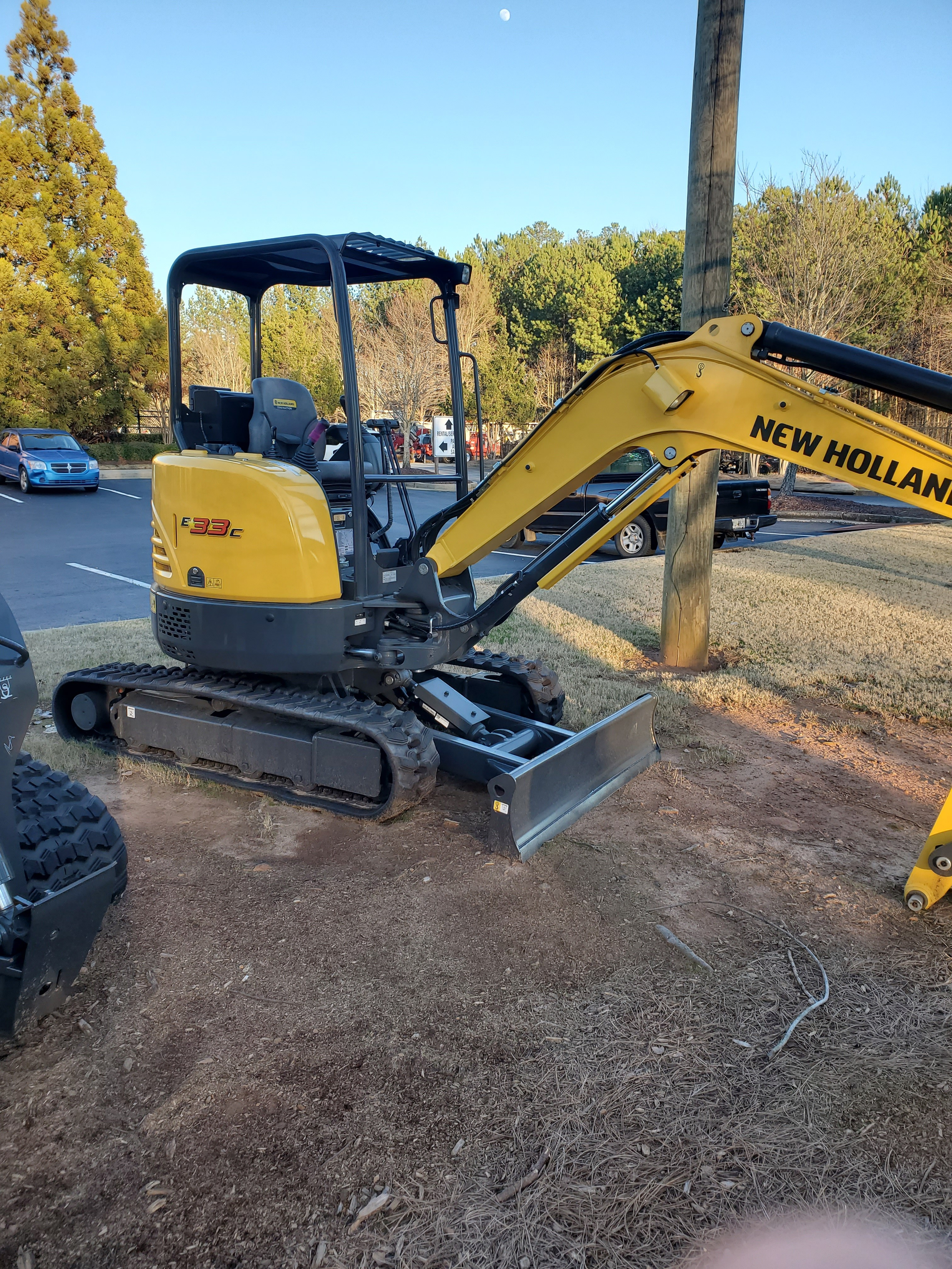 New, 2019, New Holland Construction, E33C, Excavators