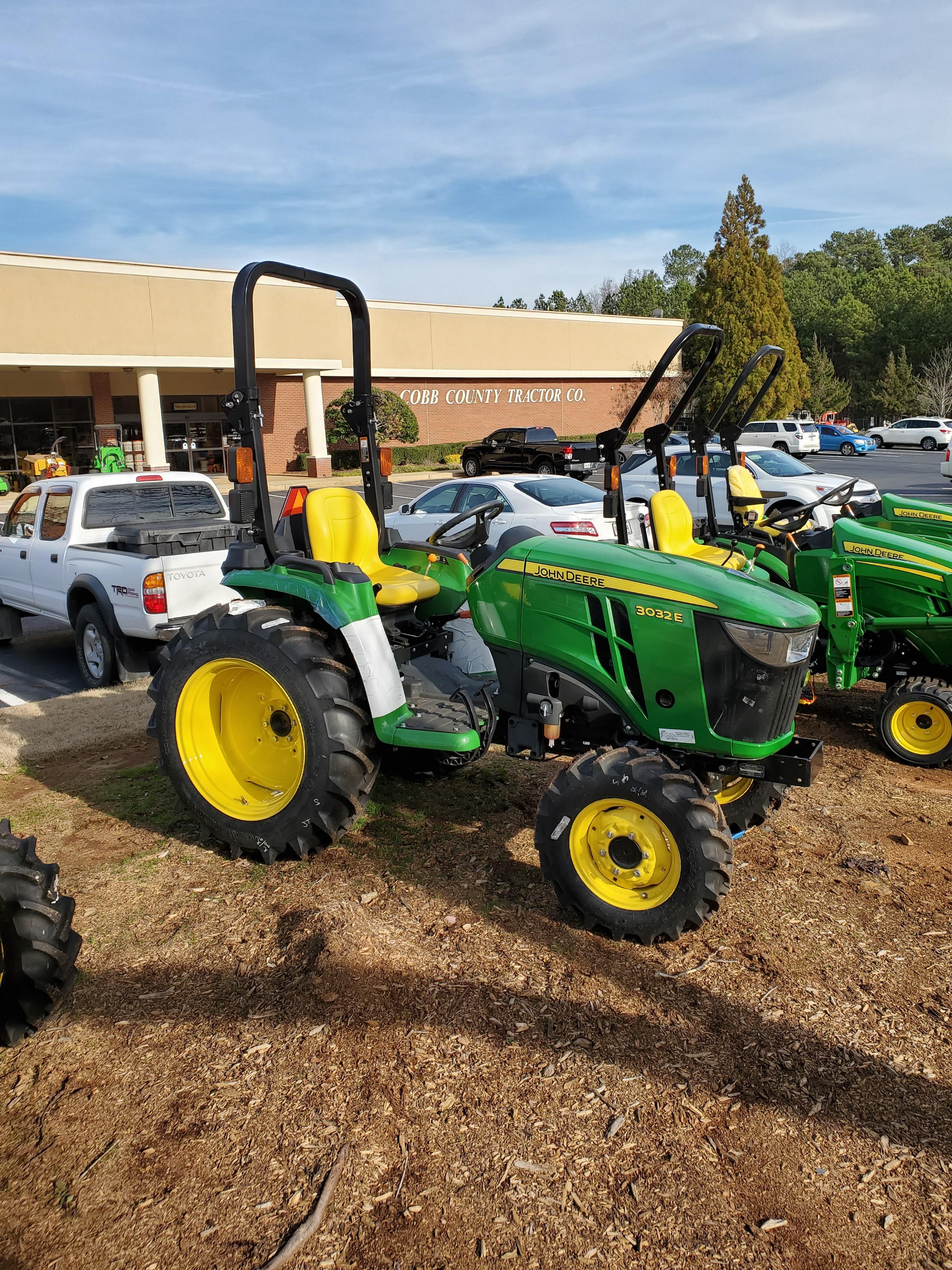 New, 2019, John Deere, 3 Family 3032E, Tractors
