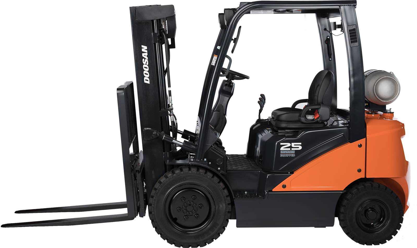 New, 2021, Doosan Industrial Vehicle, G25N-7, Forklifts / Lift Trucks
