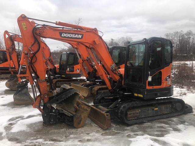 Used, 2016, Doosan Construction, DX63-3, Excavators