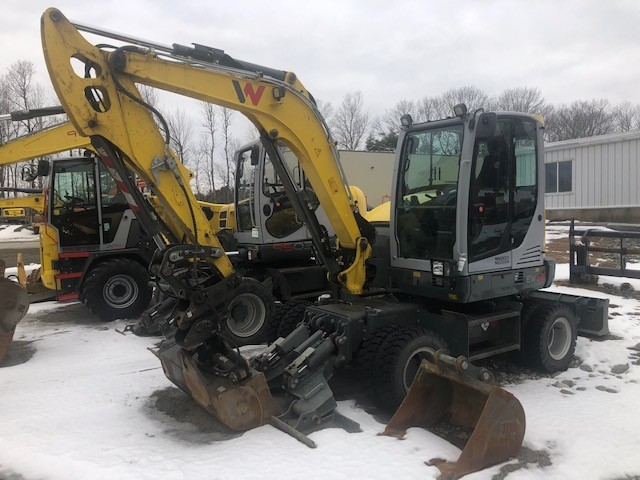 Used, 2017, Wacker Neuson, EW65, Excavators