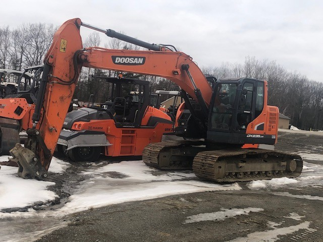 Used, 2015, Doosan Construction, DX235LCR-5, Excavators