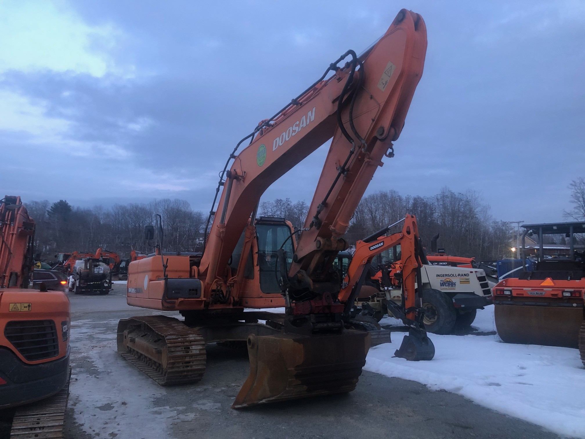 Used, 2007, Doosan Construction, DX225LC, Excavators