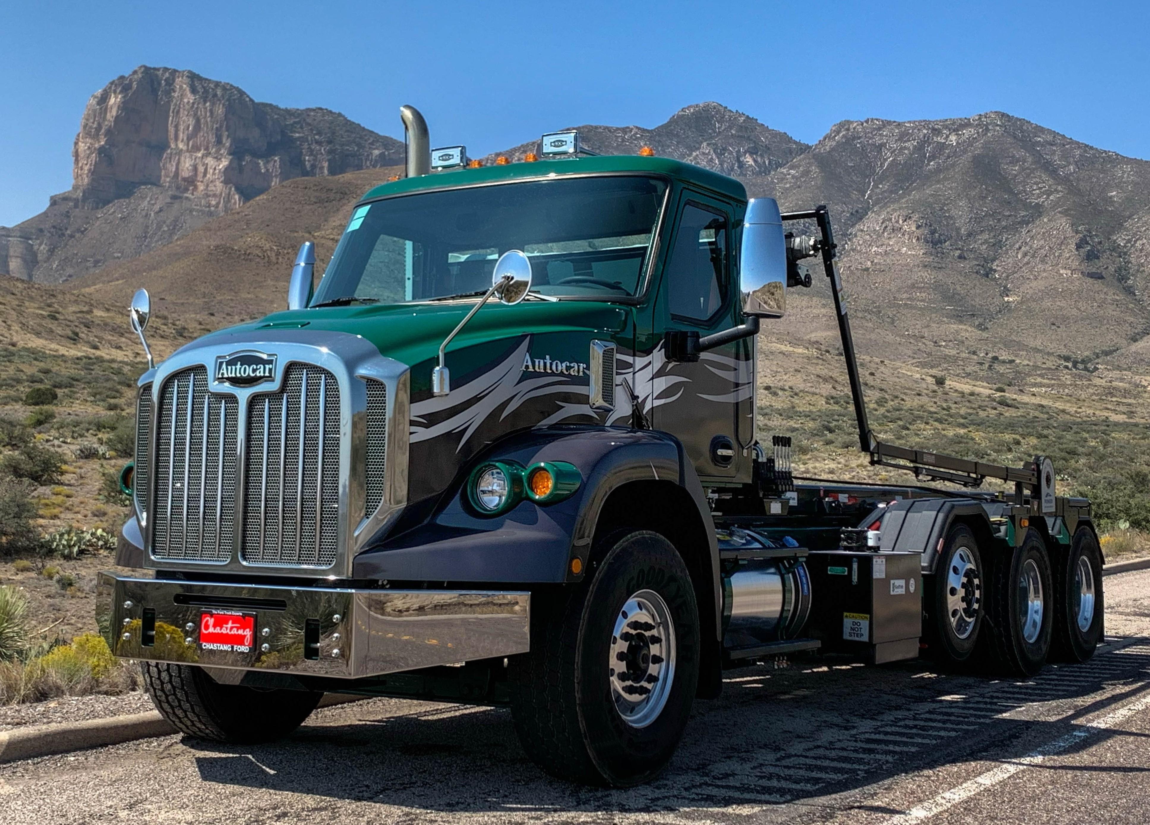 New, 2021, Autocar, DC64R, Refuse Hauler Trucks