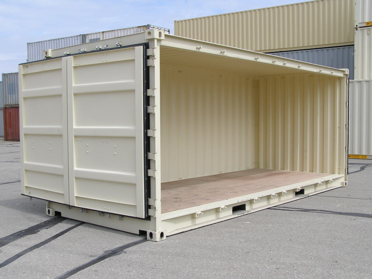 "New, Other, 20′ New ""1 Trip"" Open Side  , Truck Trailers"