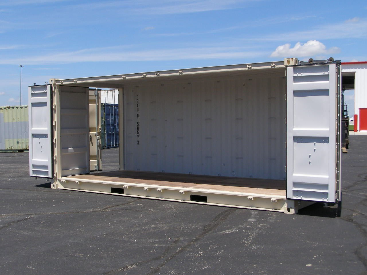 "New, Other, 20′ New ""1 Trip"" Double Door Open Side  , Truck Trailers"