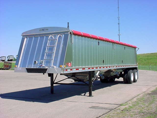 New, 2020, Neville Built, PP-CP NA 38'6 Aluminum Hopper, Hoppers / Wagons