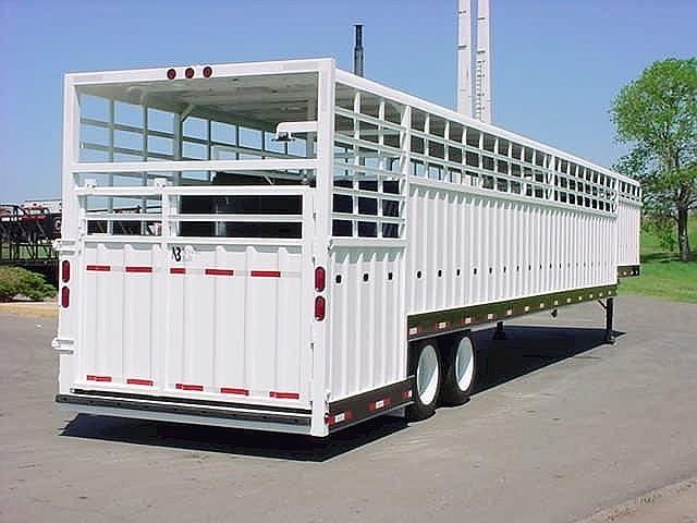 New, 2020, Neville Built, PP-CP NBLS 53' Neville Groundload, Horse / Livestock Trailers