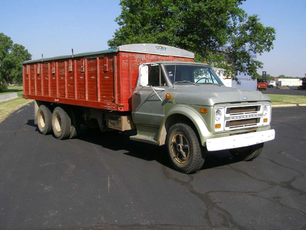 Used, 1971, Chevrolet, C60, Farm / Grain Trucks
