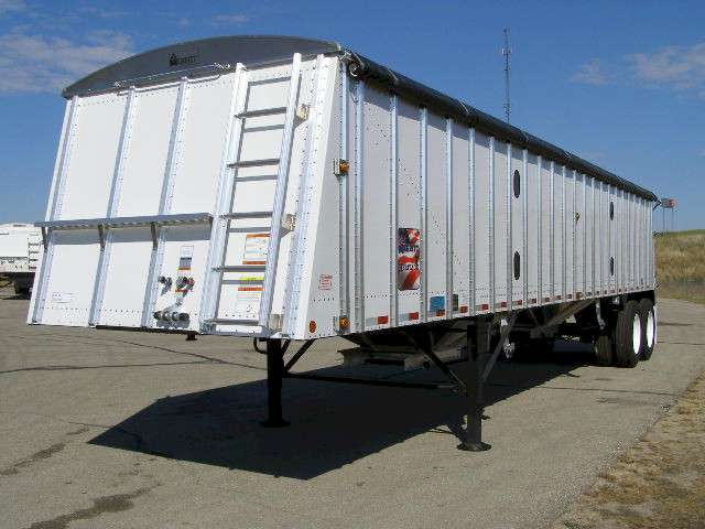 New, 2021, Merritt Equipment, INMEHP 38'6 Aluminum Hopper, Hoppers / Wagons