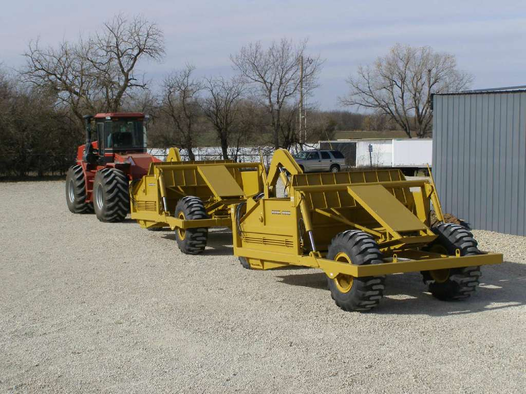 Used, Other, INHCSS Holcomb 1400N Scraper, Motor Graders / Scrapers