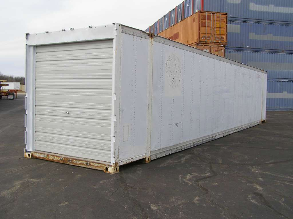 Used, Other, 48' High Cube Aluminum Container , Truck Trailers
