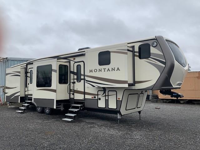 Used, 2016, Keystone, Montana 3820FK, Fifth Wheels