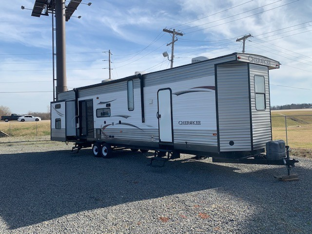 Used, 2013, Forest River, Cherokee Destination Trailers T39H, Destination Trailers