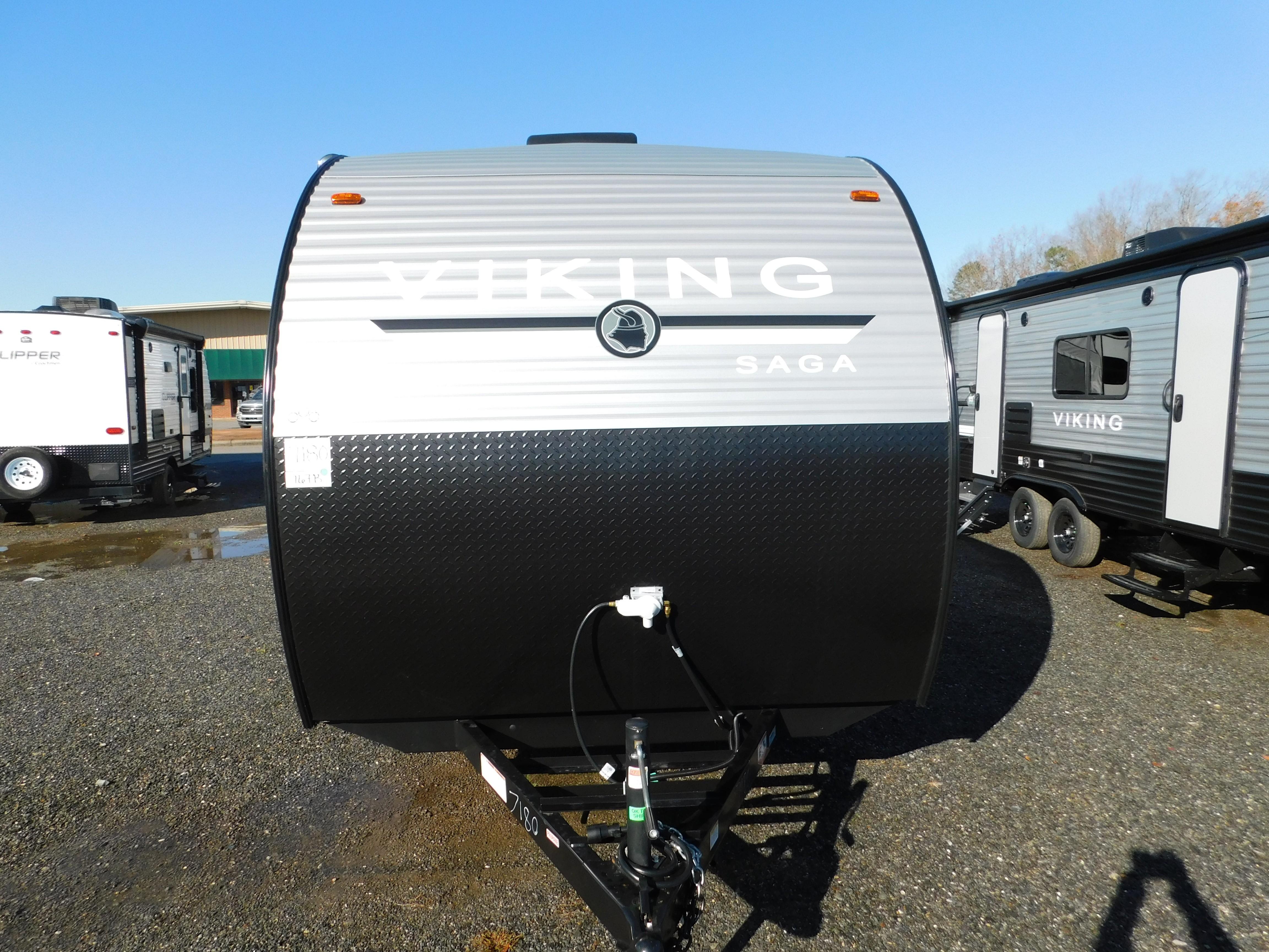 New, 2021, Viking RVs, Saga 16FB, Travel Trailers