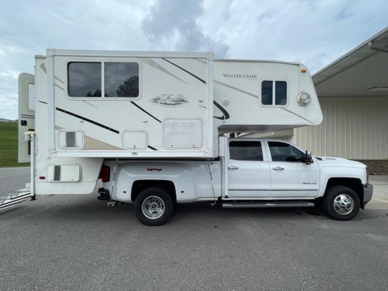 Used, 2007, Winter Creek, 11FWSL, Truck Campers