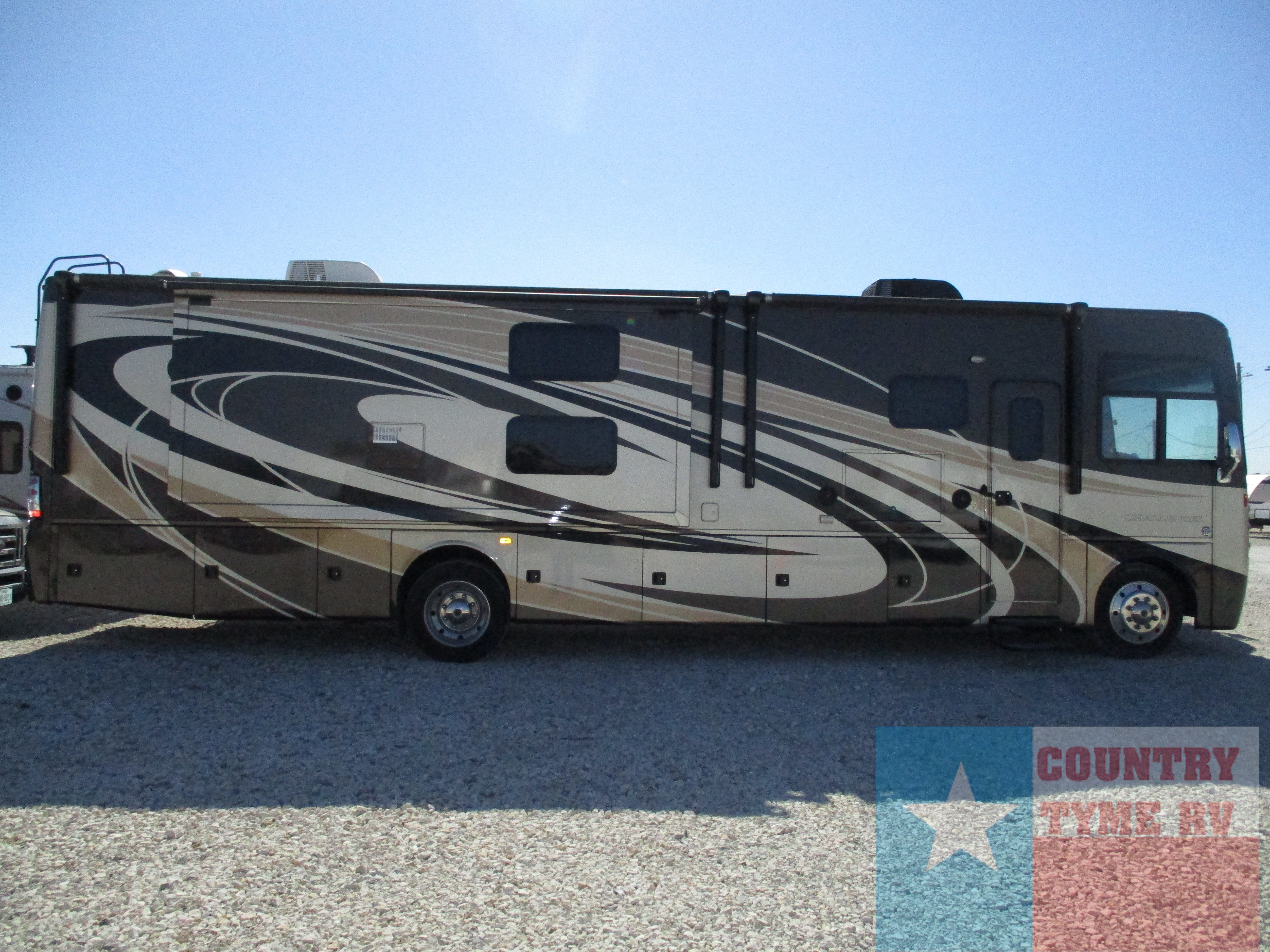 Used, 2016, Thor Motor Coach, Challenger 37TB Bunkhouse, RV - Class A