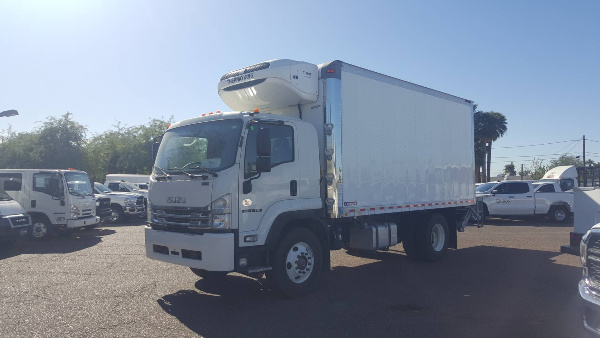 New, 2019, Isuzu, FTR (DIESEL), Reefer Trucks