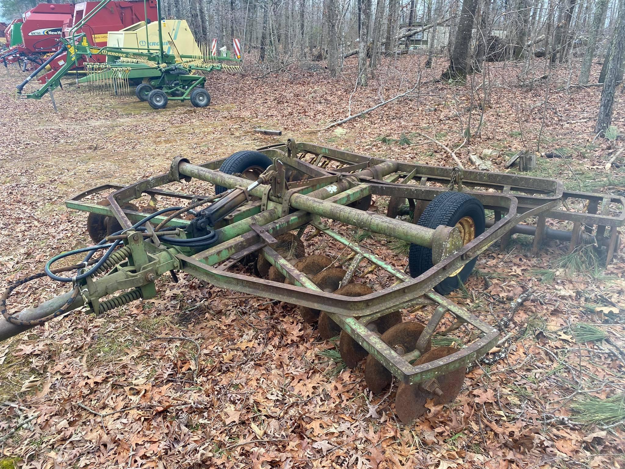 Used, 0, John Deere, John Deere 12ft Disc , Agricultural Equipment