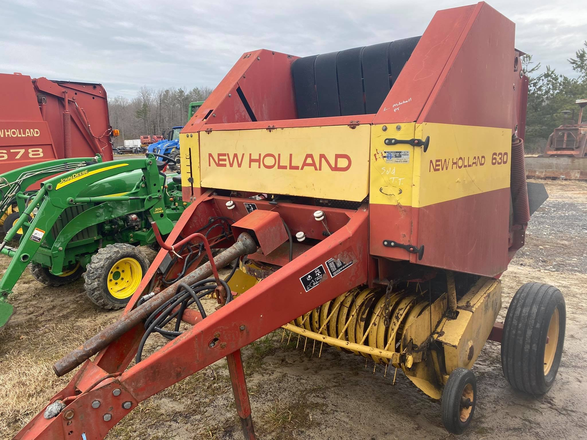 Used, 0, New Holland Agriculture, 630, Balers