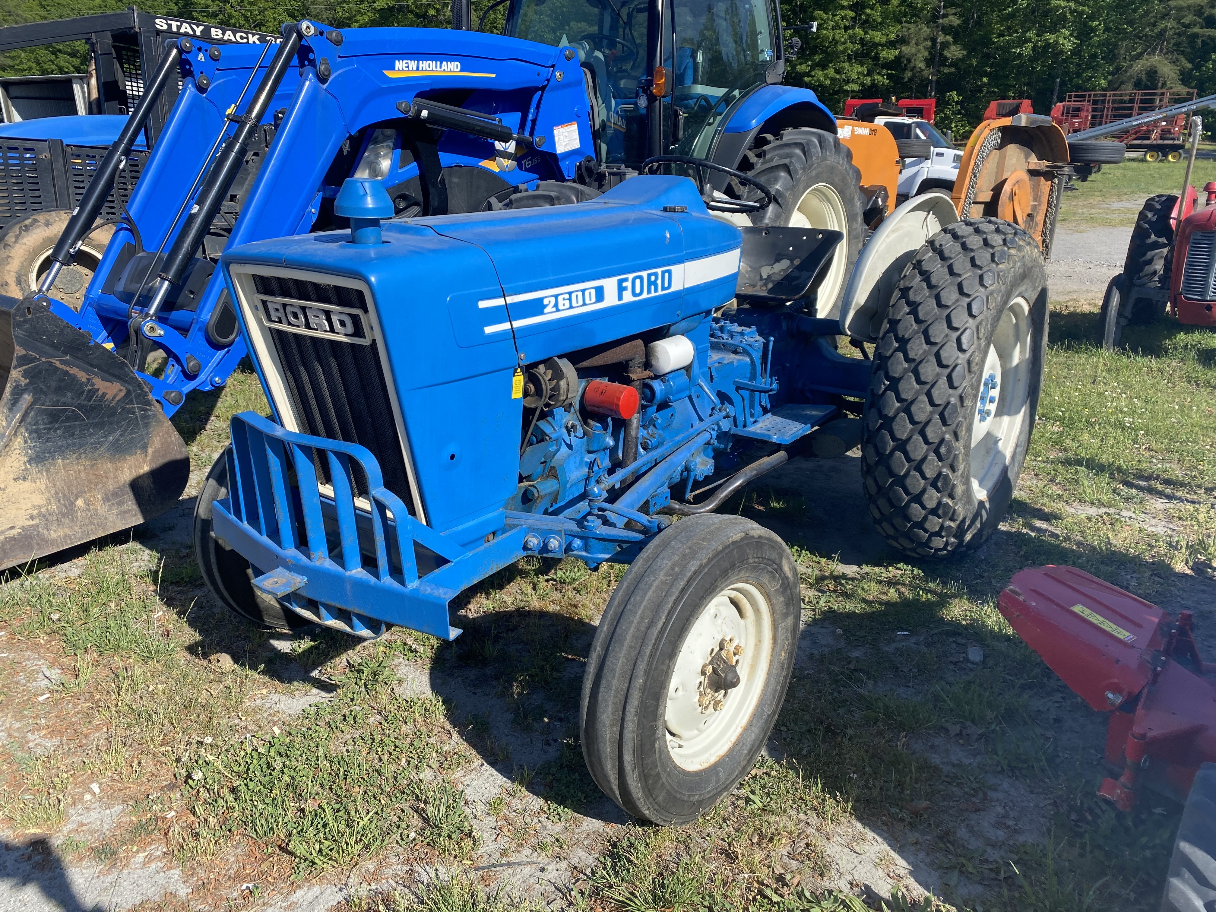 Used, 0, Ford, 2600, Tractors