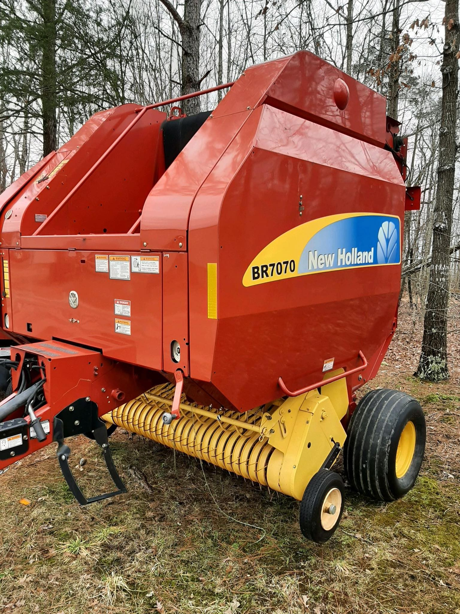 Used, 2010, New Holland Agriculture, BR7070, Balers