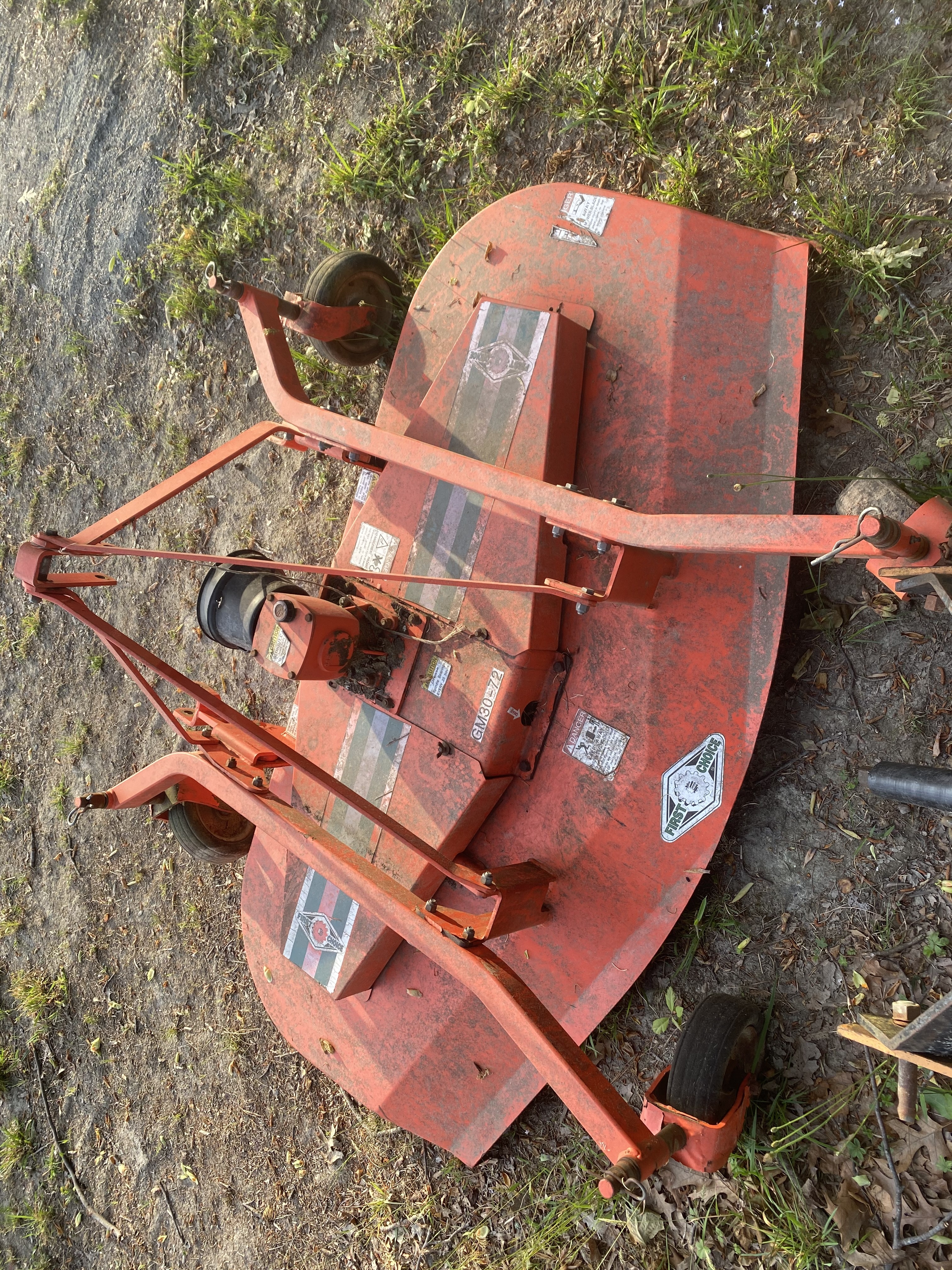 Used, 0, First Choice, GM30-72, Mower Conditioners