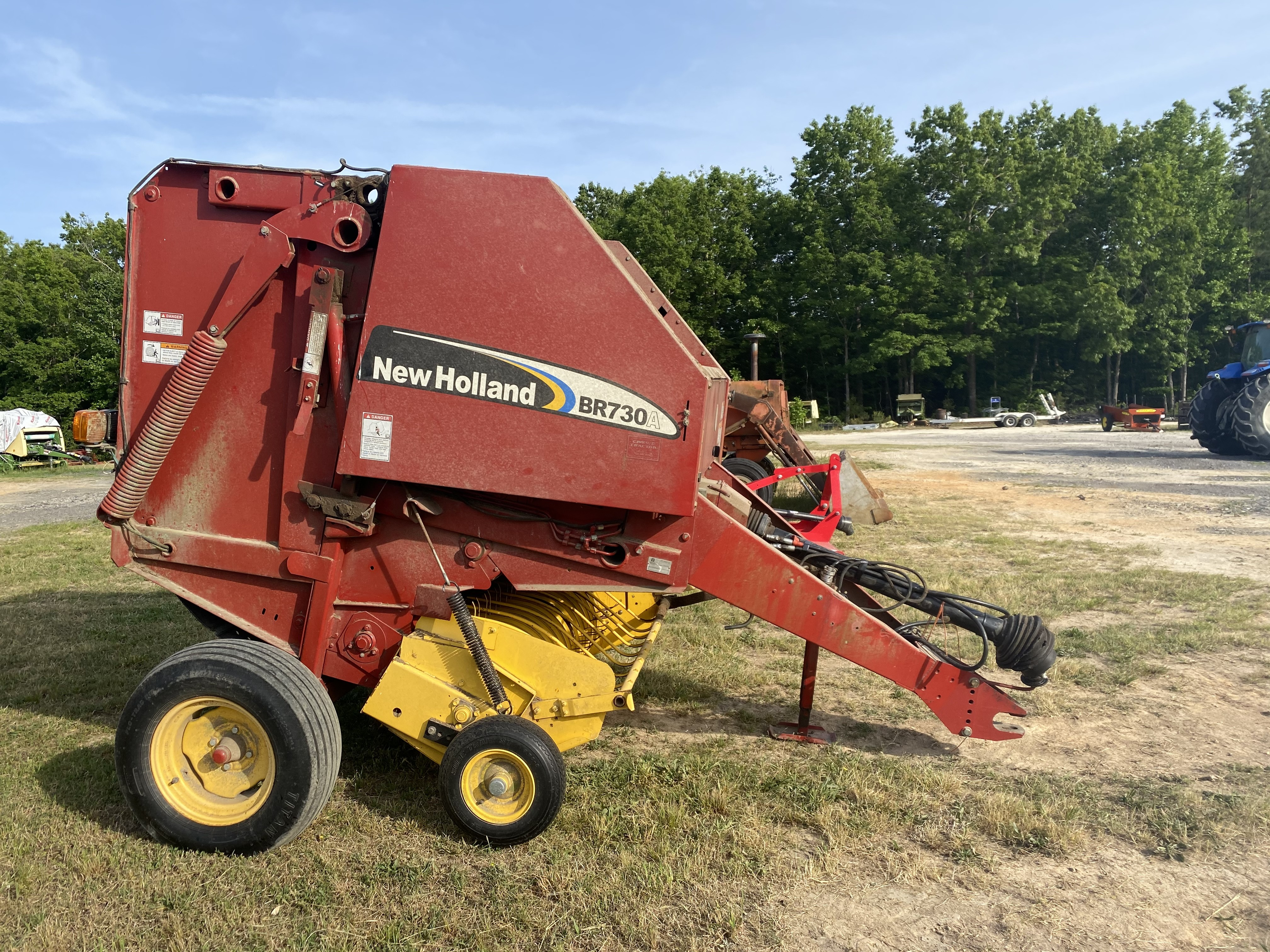 Used, 0, New Holland Agriculture, BR730A, Balers
