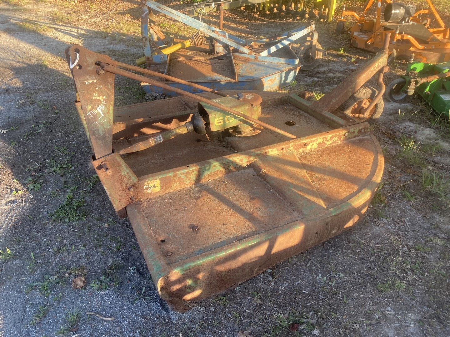 Used, 2009, John Deere, 609, Cutter Implements