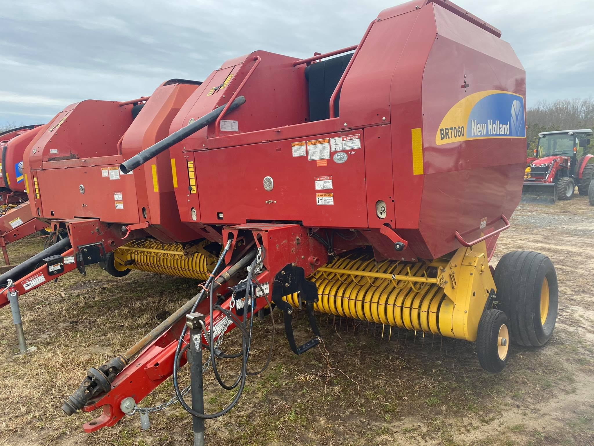 Used, 2013, New Holland Agriculture, BR7060, Balers