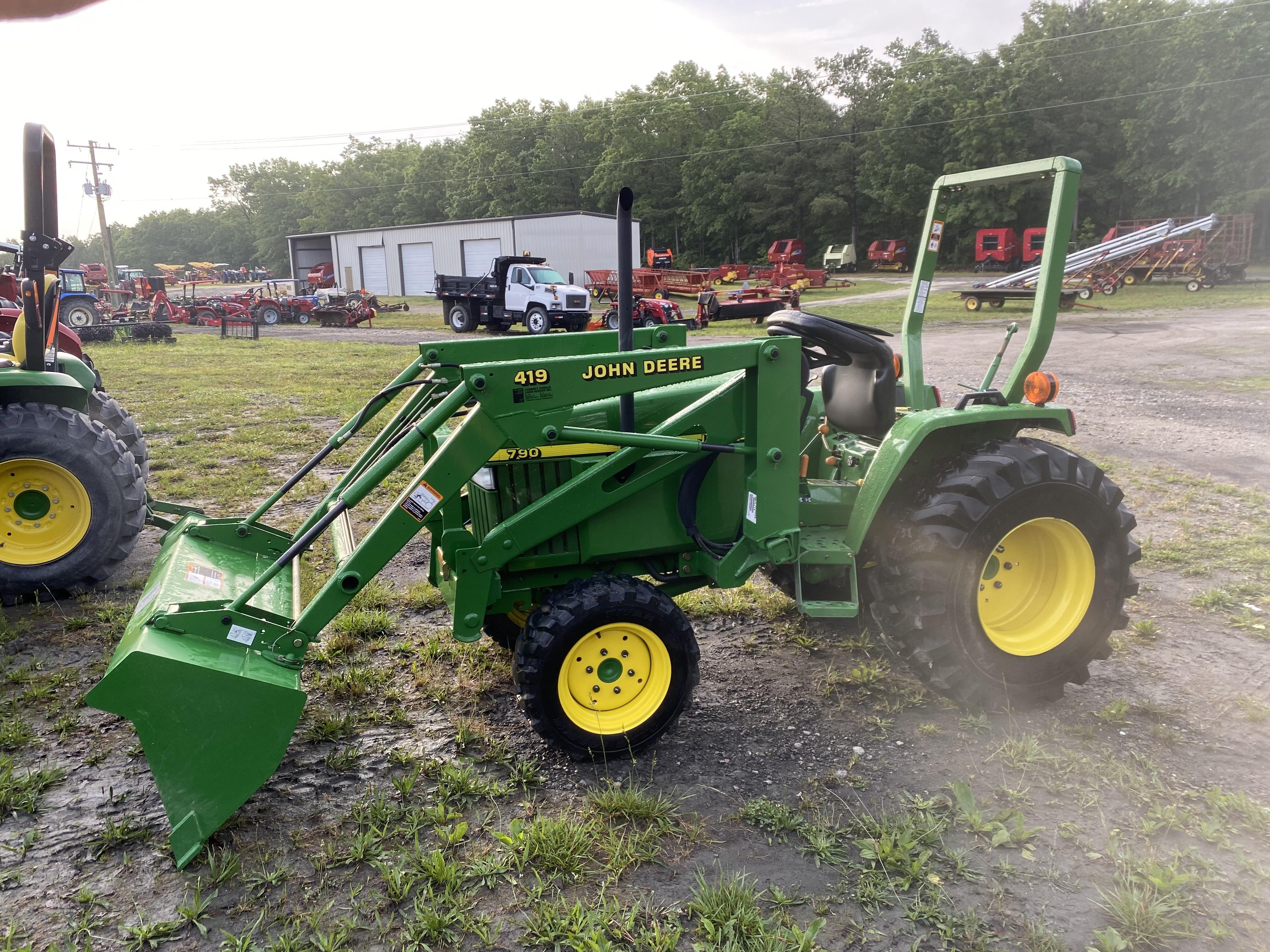 Used, 2003, John Deere, 790 Compact Tractor (27 hp), Tractors