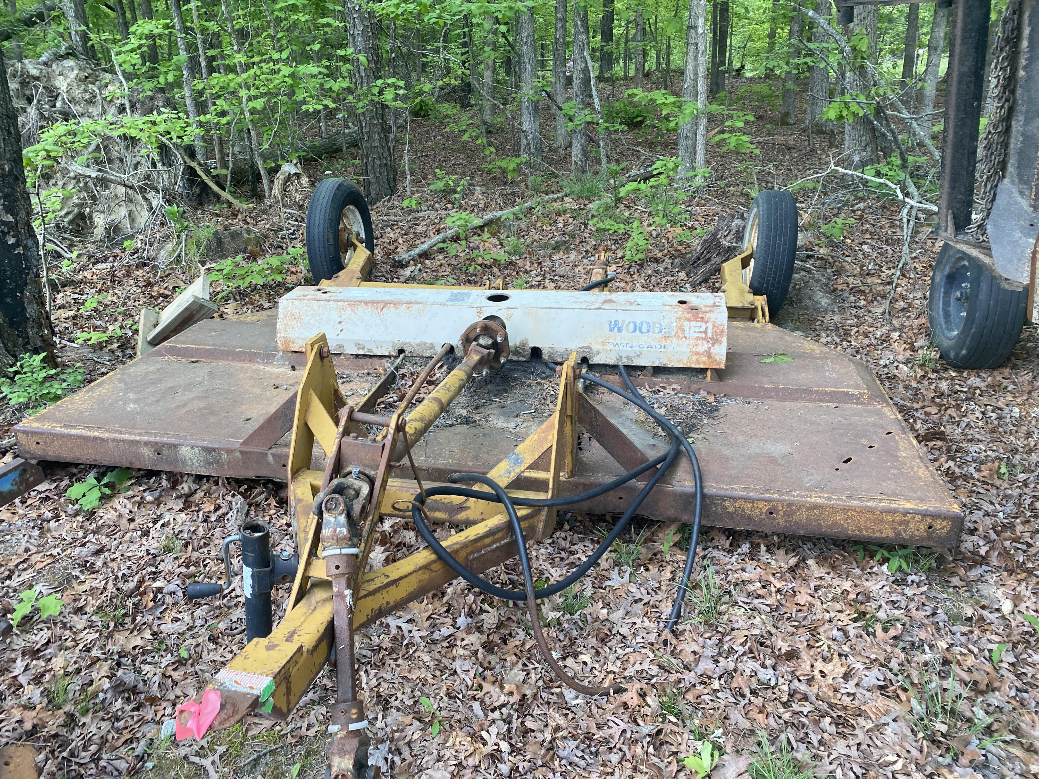 Used, 0, Woods, 121 Twine Cadet , Mower Conditioners