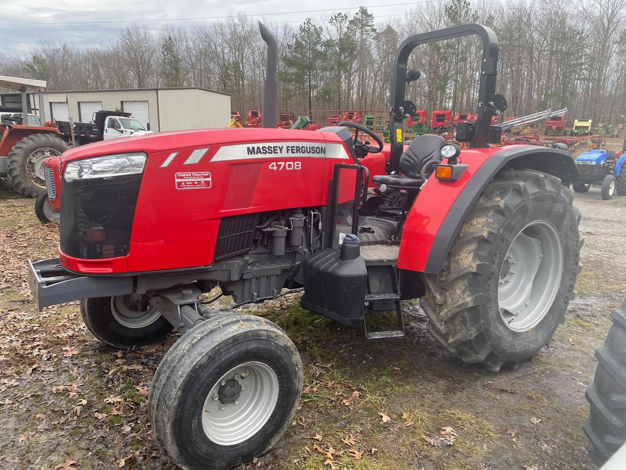 Used, 2020, Massey Ferguson, 4708, Tractors