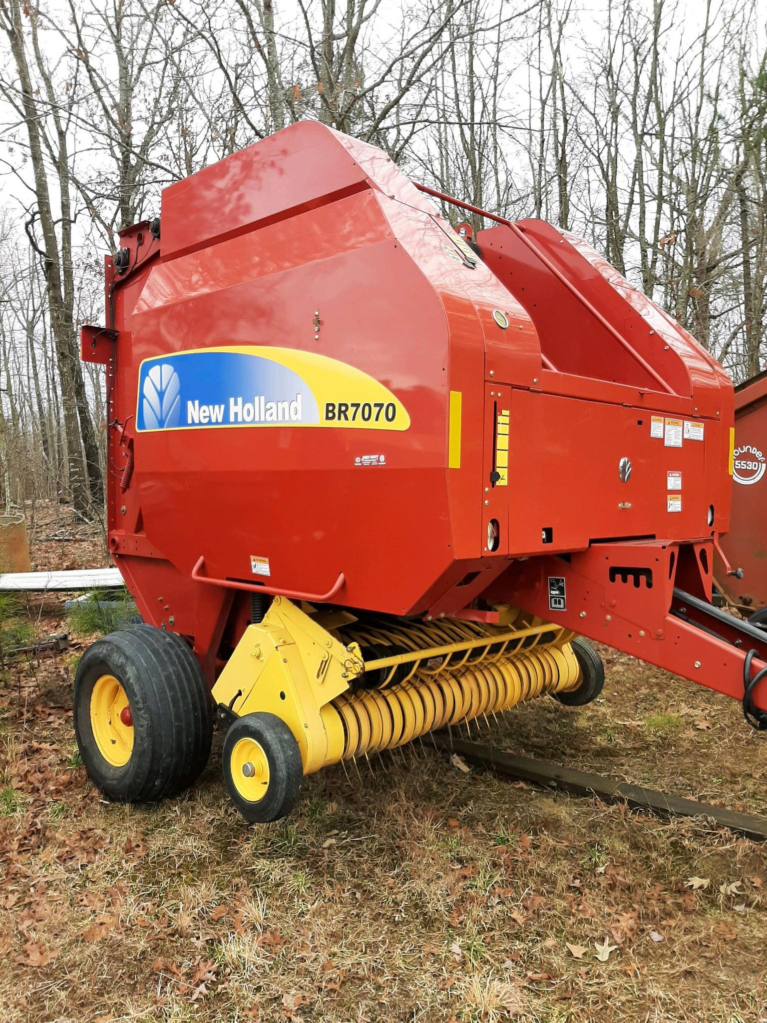Used, 2009, New Holland Agriculture, BR7070, Balers
