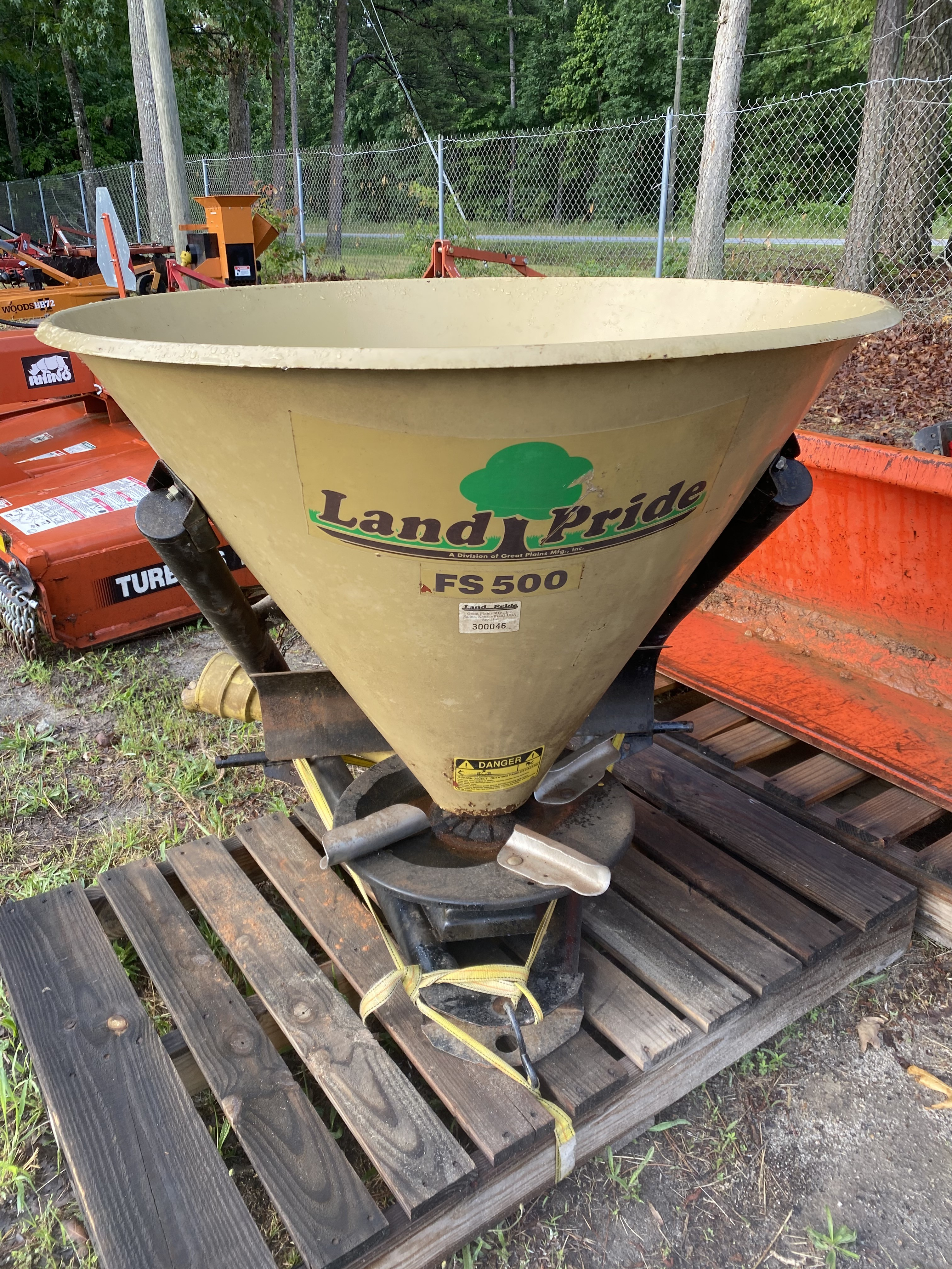 Used, 2008, Land Pride, FSP500, Spreader Implements