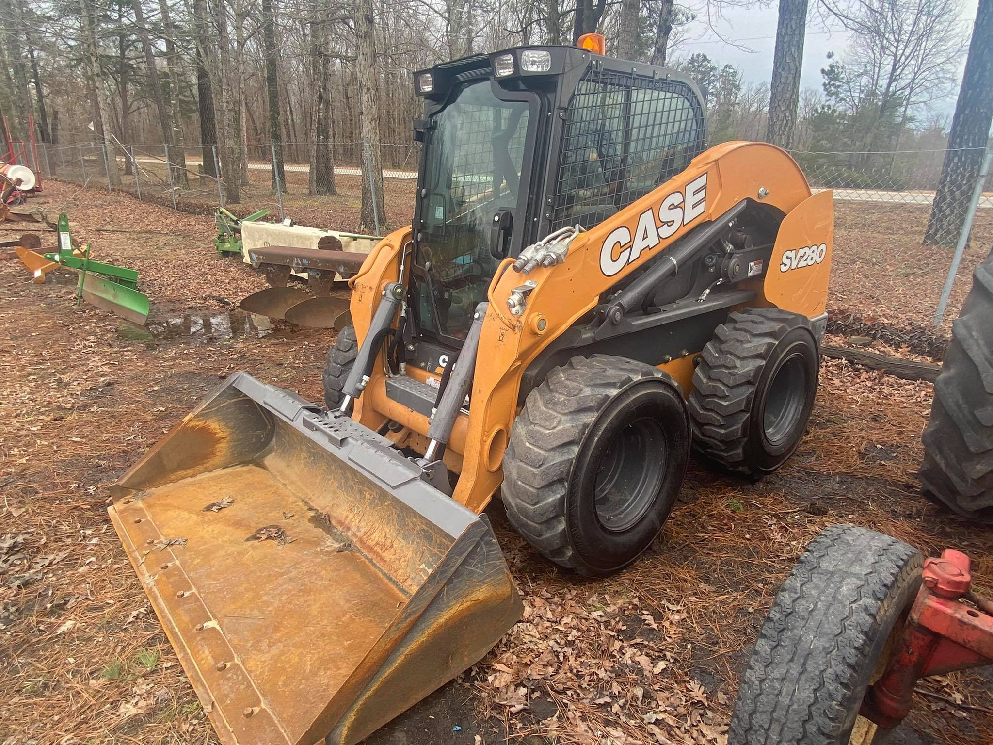 Used, 2021, Case Construction, SV280, Skid Steers