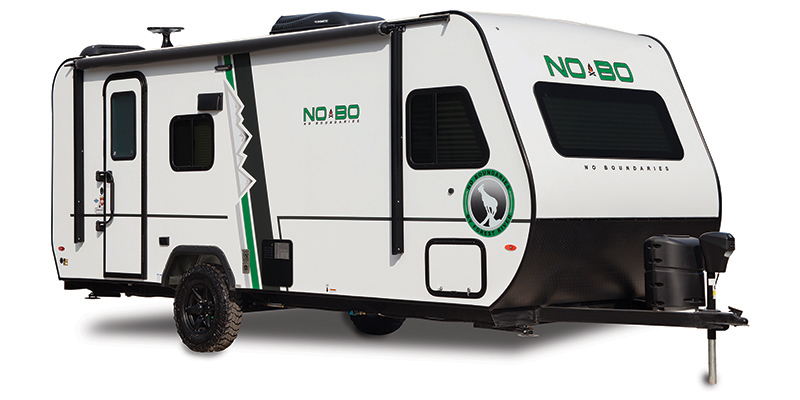 Used, 2019, Forest River, No Boundaries NB19.5, Travel Trailers