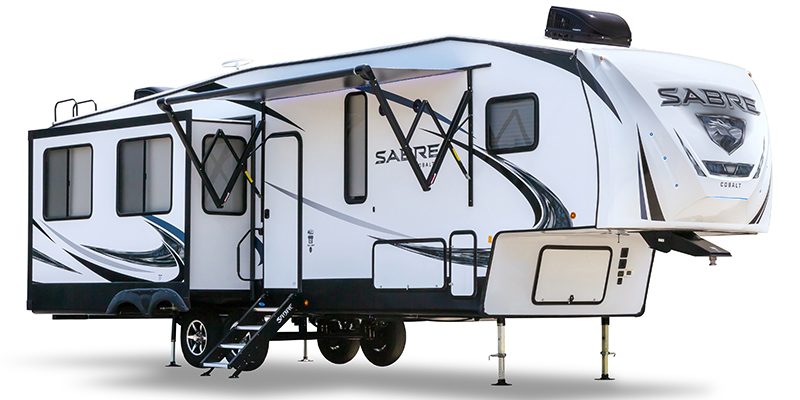 Used, 2019, Forest River, Sabre 36BHQ, Fifth Wheels