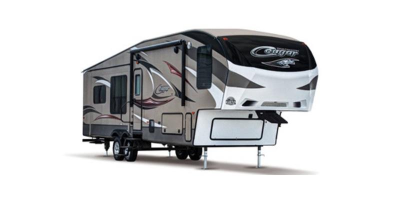 2015, Keystone, Cougar 337FLS, Fifth Wheels
