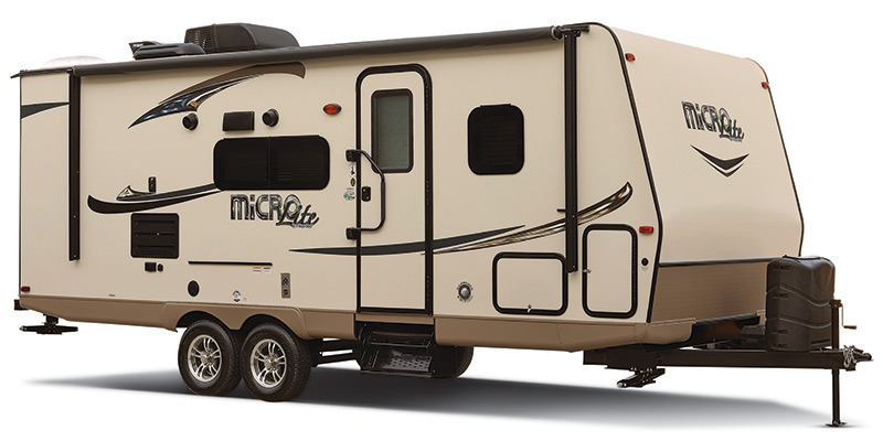 2017, Forest River, Flagstaff Micro Lite 21FBRS, Travel Trailers