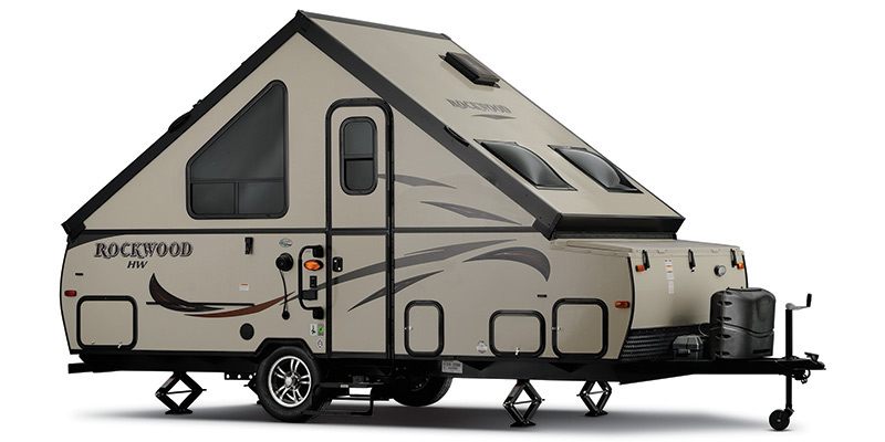 2016, Forest River, Rockwood Hard Side A128S, Pop-Up Campers